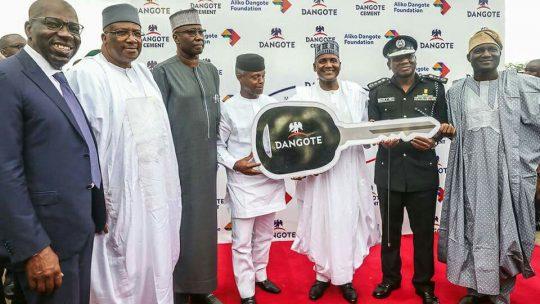 Dangote donates 150 operational vehicles to Police